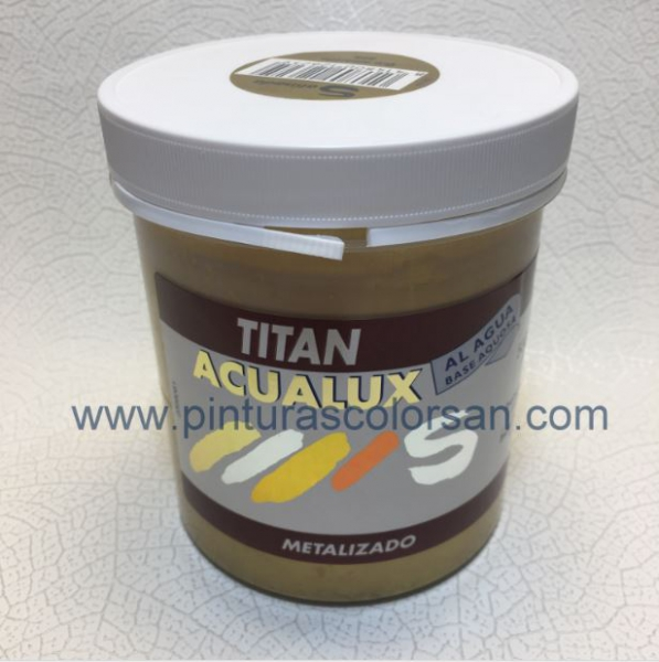 ACUALUX TITAN METALIZADO 500ml